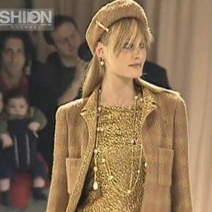 Chanel Tweed Lamé Trim Gripoix Button 3 Pieces Set
